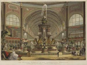 The Majolica Fountain in the International Exhibition by Robert Dudley