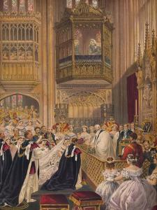 'The Marriage', 1863 by Robert Dudley