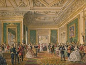 'The Signing of the Marriage Attestation Deed', 1863 by Robert Dudley