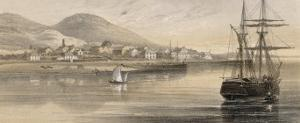 Valentia Western Ireland at the Time of the Laying of the First Cable by Robert Dudley
