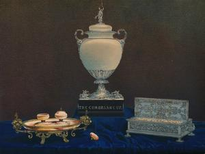 'Vase and Inkstands', 1863 by Robert Dudley