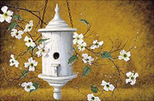 English Bird Cottage I by Robert Duff