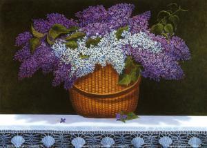 Lilacs Of Nantucket by Robert Duff