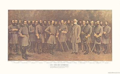 Robert E Lee and His Generals