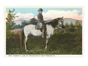 Robert E. Lee on Horse, Gettysburg, Pennsylvania