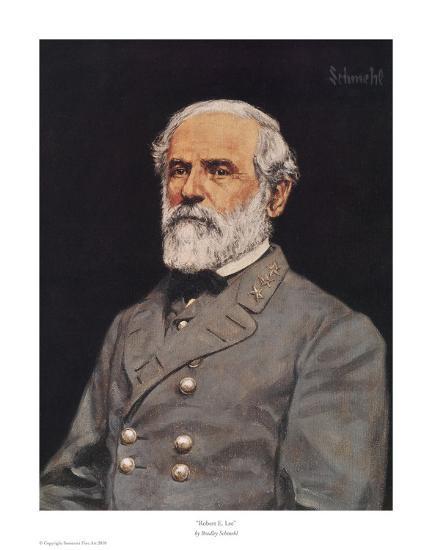 Robert E. Lee-Bradley Schmehl-Art Print
