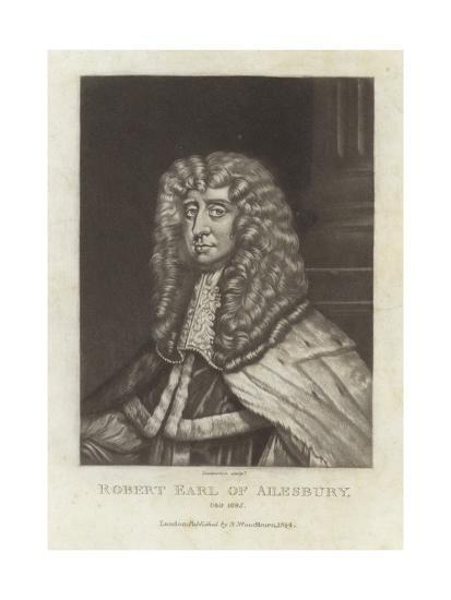 Robert Earl of Ailsbury-Sir Peter Lely-Giclee Print