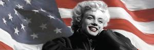 Patriotic Blonde Detail by Robert Everson