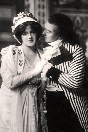 Robert Evett (1874-194) and Denise Orme (1885-196) in the Merveilleuses, Early 20th Century--Photographic Print
