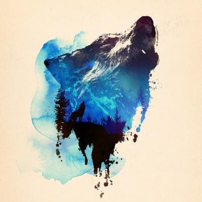 Alone as a Wolf by Robert Farkas