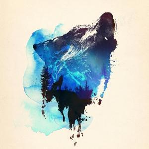 Alone As a Wolf by Robert Farkas