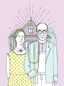 American Gothic Pop by Robert Farkas