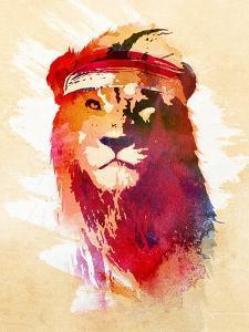 Gym Lion by Robert Farkas