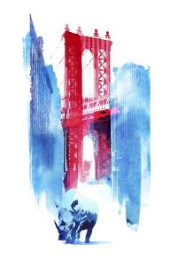 Manhattan Bridge by Robert Farkas