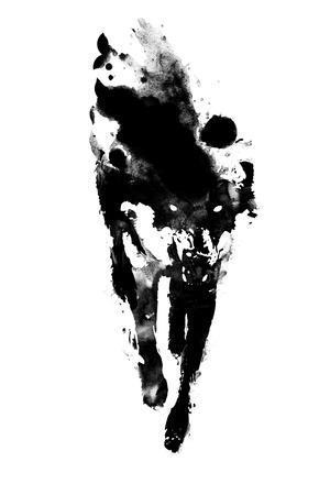 Robert Farkas Rabbit Rocks Fantasy Illustration Figurative Canvas 11×14