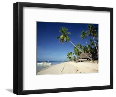 Alona Beach on the Island of Panglao Off the Coast of Bohol, in the Philippines, Southeast Asia