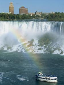American Falls on the Niagara River That Flows Between Lakes Erie and Ontario, Canada by Robert Francis