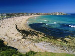 Bondi Beach, One of the City's Southern Ocean Suburbs, Sydney, New South Wales, Australia by Robert Francis