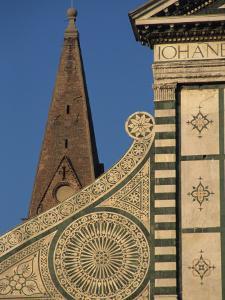 Detail of Santa Maria Novella Church, Florence, Tuscany, Italy, Europe by Robert Francis