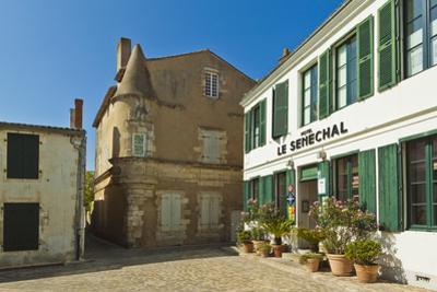 Hotel Senechal on Rue Gambetta in the island's principal western town. Ars en Re, Ile de Re, Charen