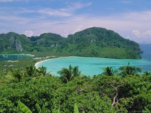 Koh Phi Phi, Limestone Island That Typifies the Coastline Around Phuket and Krabi, Thailand, Asia by Robert Francis