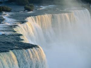 The American Falls at the Niagara Falls, New York State, USA by Robert Francis