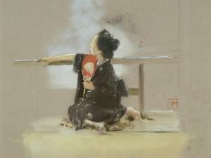 Japanese Girl by Robert Frederick Blum