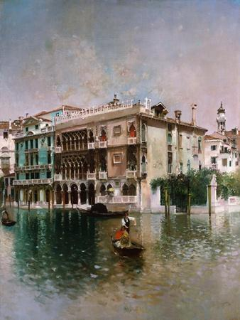 Venice, The Grand Canal. 1890