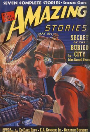 Secret of Buried City' by Robert Fuqua