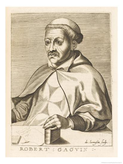 Robert Gaguin French Historian-Nicolas de Larmessin-Giclee Print