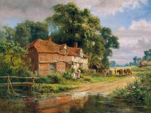 An Old Surrey Farm by Robert Gallon