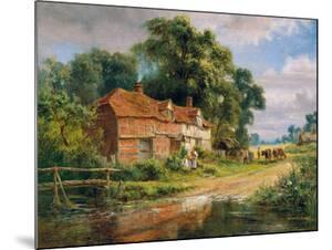 An Old Surrey Farm by Robert Gallon