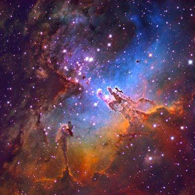 M16 (NGC 6611) the Eagle Nebulis 7000 Light Years Away by Robert Gendler