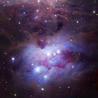 Ngc 1973-75-77, Complex Nebula in Orion