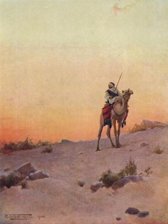 'A Desert Scout', c1880, (1904)