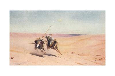 'A Duel', c1880, (1904)