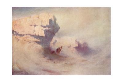 'A Sandstorm', c1880, (1904)