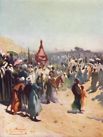 'Return of the Mahmal', c1880, (1904)