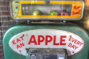 Apple Dispenser by Robert Goldwitz
