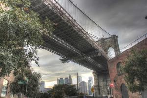 Brooklyn Bridge Brooklyn by Robert Goldwitz