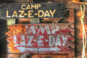 Camp Laz-E-Day by Robert Goldwitz