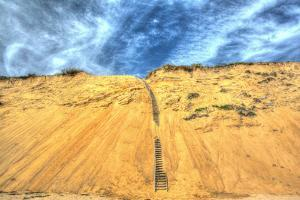 Cape Dune and Stairst by Robert Goldwitz