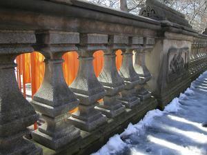Central Park Gates by Robert Goldwitz