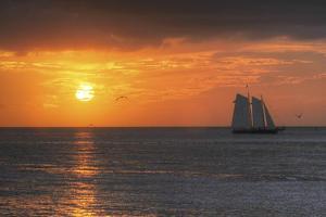 Clipper Sunset 1 by Robert Goldwitz