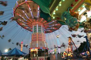County Fair Flying Chairs by Robert Goldwitz