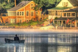 Early Morning on the Lake by Robert Goldwitz