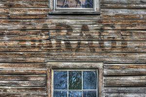 Garage Wall Sign by Robert Goldwitz