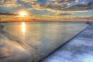 Higgs Pier Key West by Robert Goldwitz