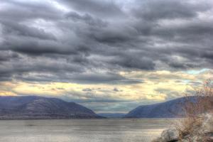 Hudson Highlands Early April by Robert Goldwitz