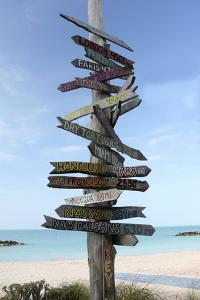 Key West Sign by Robert Goldwitz